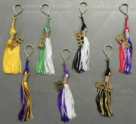 Key ring tassels