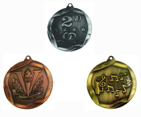 MS medals Assorted